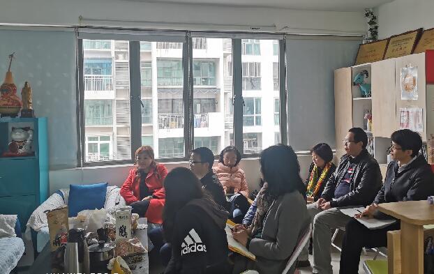 深圳市康宁医院精神科主任医师黄美珍来心海湾分享交流现场3